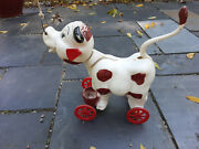 Vintage Cassie The Cow Pull Toy 1950and039s