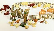 Incredible Farm Scene John Hill And Co. England Very Good To Excellent