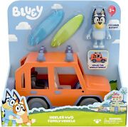 Bluey Toy Car Heeler 4wd Family Vehicle With Bandit Figure New