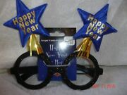 7-pack Of New Years Eve Party Hat/sparkle Glasses W/twin Star Boppers Thirte3n