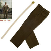 Alert Line Al100028b 1/6 Wwii Us Army Officer Uniform Suit Trousers For 12 Body