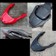 Motive Motorcycle Passenger Rear Seat End Cover For Honda Adv150 Abs Red Black