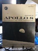 Very Rare Nasa Manual Andnbspapollo 8 Photographic Catalog - With All 4 Maps