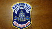 District Of Columbia Metropolitan Police  Obsolete Patch  Bx 26