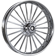 Rc Components - 23375-9031a-126 - Ilusion Forged Front Wheel Dual Disc 23in. X