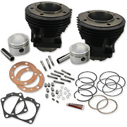Sands Cycle - 91-9017 - Stock Bore Cylinder And Stroker Piston Kit Harley-davidson