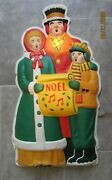 Vintage Noma Lites Canada Christmas Choral Singer Rare Celluloid 50's W/ Box