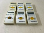 T7 Lot Of 6 Scheidt And Bachmann Pms/c Hand Reader 04zz871 F