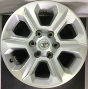 One Used Toyota 4runner Tacoma 17 Factory Oem Silver Wheels Rims 75153 W 1754