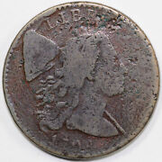 1794 1c S-34 Liberty Cap Large Cent Mid Die State