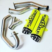Yamaha 15-21 Raptor 700 Empire Industries Dual Exhaust System Fast Huge Hp