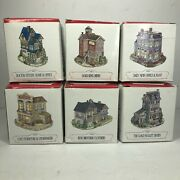 The Americana Collection Collectable Figurines Vintage Lot Of 6 Liberty Falls Cc