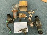 1956 Land Rover S1 Fuel Pump Filter And Misc Parts