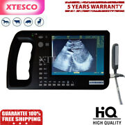 Portable Veterinary Ultrasound Scanner 6.4 Lcd Screen For Large Animals Cowxte