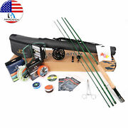 Maxcatch Premier Fly Fishing Rod Reel Combo Complete 9and039 Fishing Outfit Kits