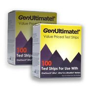 Genultimate 100ct Test Strips For Onetouch Ultra Meters - 2 Pack