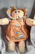 1980 Cabbage Patch Girl Hand Signed Xavier Roberts All Original Clothes/papers