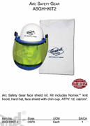 Guard Line Arc Safety Gear Kit Includes Nomex Knit Hood Hard Hat Face Sheild
