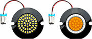 Cyron Lighting Ac1157ar Wide View Led Turn Signal Inserts Red 1157dual Circuit