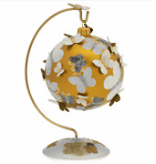 Jay Strongwater Butterfly Glass Ornament