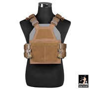 Dmgear Xp10 Tactical Vest Plate Carrier W/ Fast Release Buckle Paintball Hunting