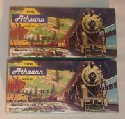 Lot Of 2 Athearn Model Train Empty Boxes In Very Good Condition