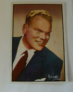 Tommy Bartlett 1953 Nbc Stars 19 Radio - Tv Emcee Collectible Trading Card