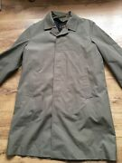 Exchequer Genuine British Weathercoat With Inner Gilet 44andrdquo Chest Excellent Cond.