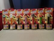 👉brand New👈 Pez Halloween Dispensers Set Of 7 Including Hard To Find Mummy