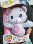 The Original Doodle Bear 25th Anniversary Le 14ʺ Plush Toy W 3 Washable Markers