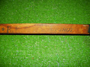 Vintage R.k. And B. Tufshot Wooden Hockey Stick Canada Very Old