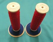 Grips Usa B1-b Bmx Mike Buff Red White Blue 2010 Bicycle Rare Colorway