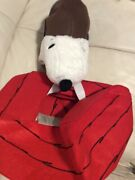 Pottery Barn Kids Red Baron Snoopy And Dog House 3d Costume 3t Nwt Halloween
