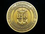 National Security Agency Nsa Command Master Chief Challenge Coin