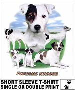 Fun Loving Parsons Jack Russell Terrier Dog Group T-shirt Ws717
