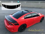 Dodge Charger 2015 - 2020 Tail Band Daytona Vinyl Decals Stickers Stripe Graphic