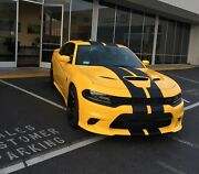 Dodge Charger 2015 - 2020 Complete Rally Vinyl Decals Stickers Stripe Kit