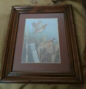 Ronald Louque 1976 Print -framed, Matted And Signed