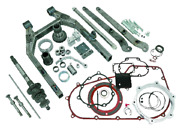 250 Complete Wide A Swing Arm Kit For Harley Dynaand039s 2006-2011