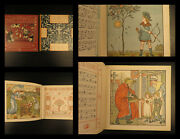 1900 Walter Crane Art 2v Babyandrsquos Bouquet And Opera Nursery Rhymes Childrenandrsquos Tales