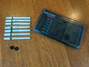 Koh-i-noor Rapidograph Set Of 7 Technical Pens 4 New, 3 Used Model 3165-sp7p