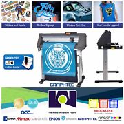 24 60cmgraphtec Ce7000-60 Vinyl Cutter/plotter 2 Years Warranty Free Shipping