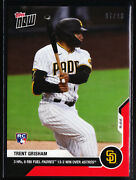 Trent Grisham Padres Rookie 3 Hrand039s Win Over Astros 2020 Topps Now 144 Red 07/10