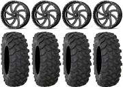Msa Milled Switch 20 Wheels 35 Xtr370 Tires Can-am Renegade Outlander