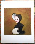 2005 Ray Caesar - Hall Of Ages Study - Print 12 Of 20 - Signed W/coa Surrealism
