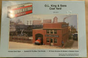 Walthers Cornerstone Series O.l.king And Sons Coal Yard Ho Model Kit 933-3015 New
