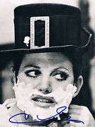 Claudia Cardinale 1938- Genuine Autograph In Person Signed 7x9 Photo