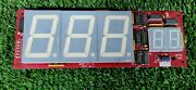 2 Minute Drill Football Arcade By Ice Display Pcb