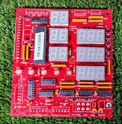 2 Minute Drill By Ice Red Led Stats Pcb