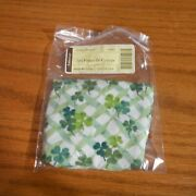 Longaberger 2011 Fields Of Clover Lots Of Luck Liner 23943